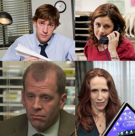 the office personajes nbc