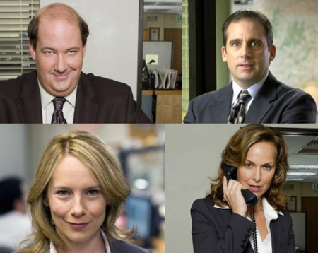 the office personajes final